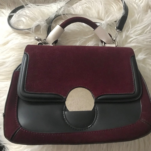 7d8ab85fd0f EUC Zara 3-tone top handle shoulder bag. M_5a88969fb7f72ba50196be84